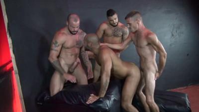 Leo Forte Gang Fucked Mario Cruz, Leo Forte, Brett Bradley, Sean Duran (2016)