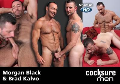Morgan Black and Brad Kalvo