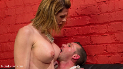 Delia Releases A Kept Man From Chastity Then Locks Him Down With Her Cock