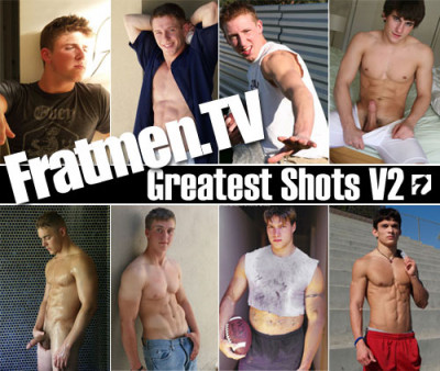 Fratmens Greatest unchained access gay porn Shots Volume2 , gay young male site!