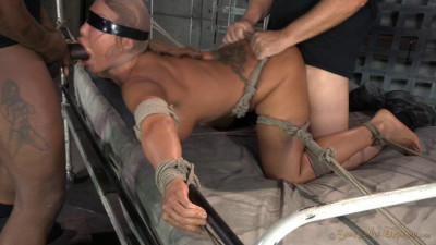 Giant Titted MILF Ava Devine Blindfolded Bound