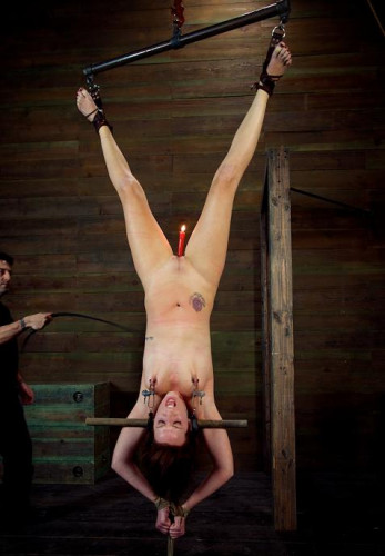 Vaginal wax torture
