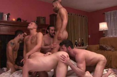 First Gang Bang With Brutal Men
