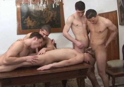 Gangbang At Castle