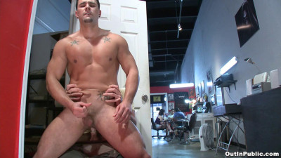 Big Daddy - Out in Public - Tattoo Shop Fucking Randy Star