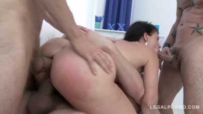 Curvy slut Tanika goes for wicked anal pounding and double pussy Pawg anal and Dp (2016)