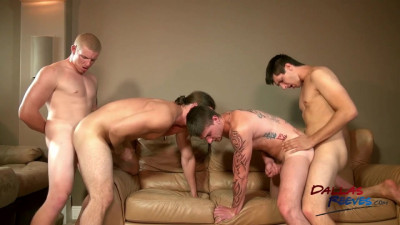 The Bare Fuck Project (Cage Kafig, Jared King, Kip Johnson, Connor Chesney)