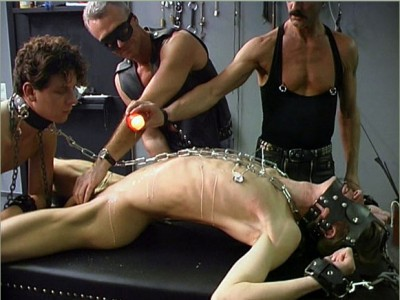 Chains, Stroking And Toys