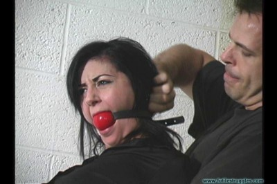 Nyxon Captured Hogcuffed Hogtied Gagged Twice 1part - BDSM, Humiliation, Torture HD 720p