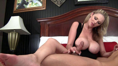 Penis husband shoved deep in her mouth