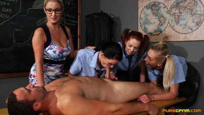 Candi Blows Chloe Vegas Georgie Lyall Tasha Holz Sex (1080)