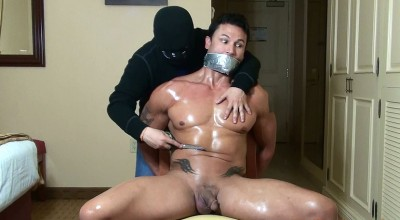 Dante Brice Bound and Stripped