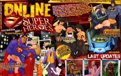 Online SuperHeroes