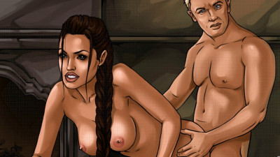 Toon Sex  The Sexual Life of Lara Croft Full HD
