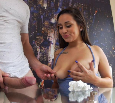 Evie Olson - Cleans the kitchen and Jmacs cock FullHD 1080p