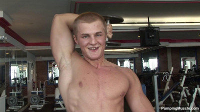 Pumpingmuscle — Teen Bodybuilder Marek A Photo Shoot
