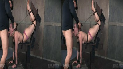3D – Sierra Cirque Face Fucked In Extreme Bondage!