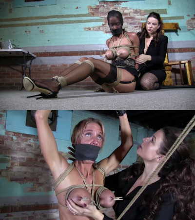 Super Torture And Bondage For Beautiful Blonde Model