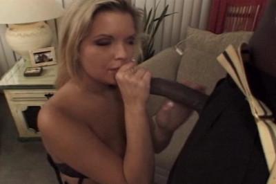 Teri Starr Sucks A Huge Black Dick