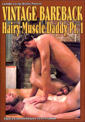 Vintage Bareback: Hairy Muscle man 1
