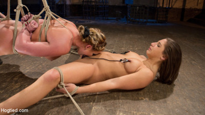 Phoenix Marie And Abella Danger Helpless In Bondage, Tormented And Made To Cum