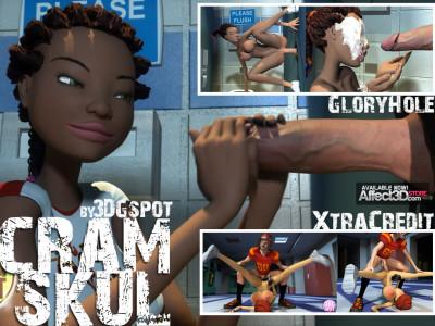 Cram Skul Glory Hole 3D HD