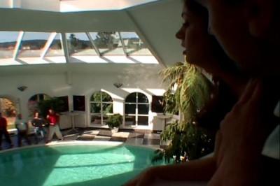 Bukkake sex of Lucy Lee & company