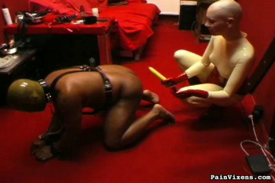 Ebony Slave Bondage