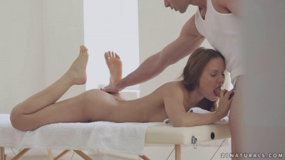 Oily Foot job — Sabrina Moore
