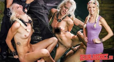 SexualDisgrace - March 24, 2016 - Halle Von Spanked Stupid