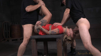 Tattooed Alt Slut Kleio Valentien Tied Up And Passed Around