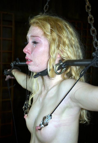 Wet pussy wants BDSM orgasm