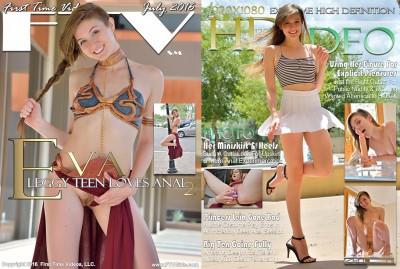 Eva — Leggy Teen Loves Anal 2