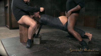 Mia Austin utterly destroyed by dick and strict bondage