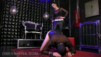 Obey Nikita - Whipped Toe Licker