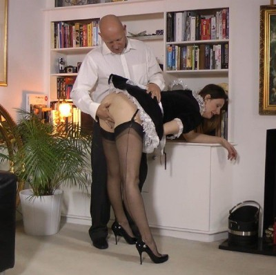 Lara Latex (French Maid Gets Fucked)