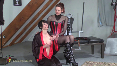 Candy Gets Caned And Trained Apr6 2014