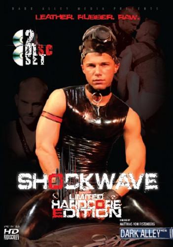 Bareback ShockWave (Leather, Rubber, Raw) — Danny Fox, Owen Hawk, Matthias Von Fistenberg