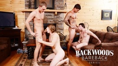 Backwoods Bareback Part 3 Tom Faulk, Bryce Rude, Sebastian Young, Scott Harbor (2015)
