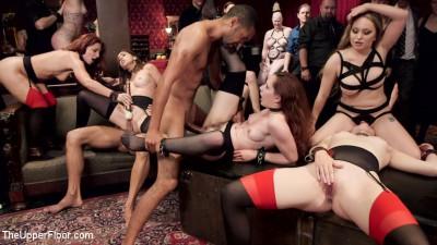 Anal Slut Slaves Serve a BDSM Swingers Orgy