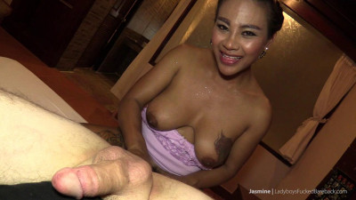 Jasmine Cums Inside a Guy and Facialized (2016)
