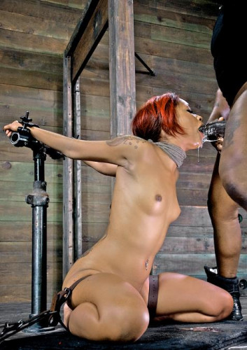 Sexual Superstar Gets Throat Drilled By BBC-Skin Diamond , HD 720p