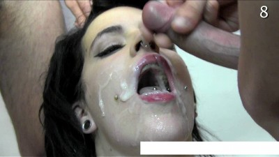 What she does not give the whole sperm juice