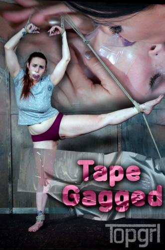 Tape gagged