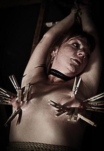 Real slave tries BDSM
