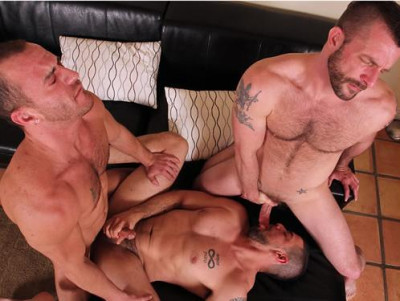 CocksureMen - Morgan Black, Dominic Sol & Steve Vex
