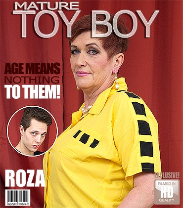 Roza c — Kinky mature lady doing her toyboy HD 720p