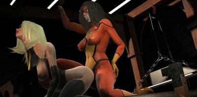 Hot Super Lesbian Action Vol. 2