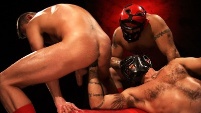 Spencer Reed, Alessio Romero, And Lance Navarro – Full Fetish – The Men Of RECON Scene 1