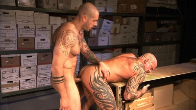 Harley Everett and Nate Pierce - Surveillance - Scene 2